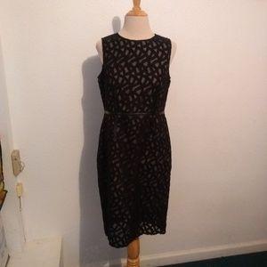 Vince Camuto Black Lace Dress